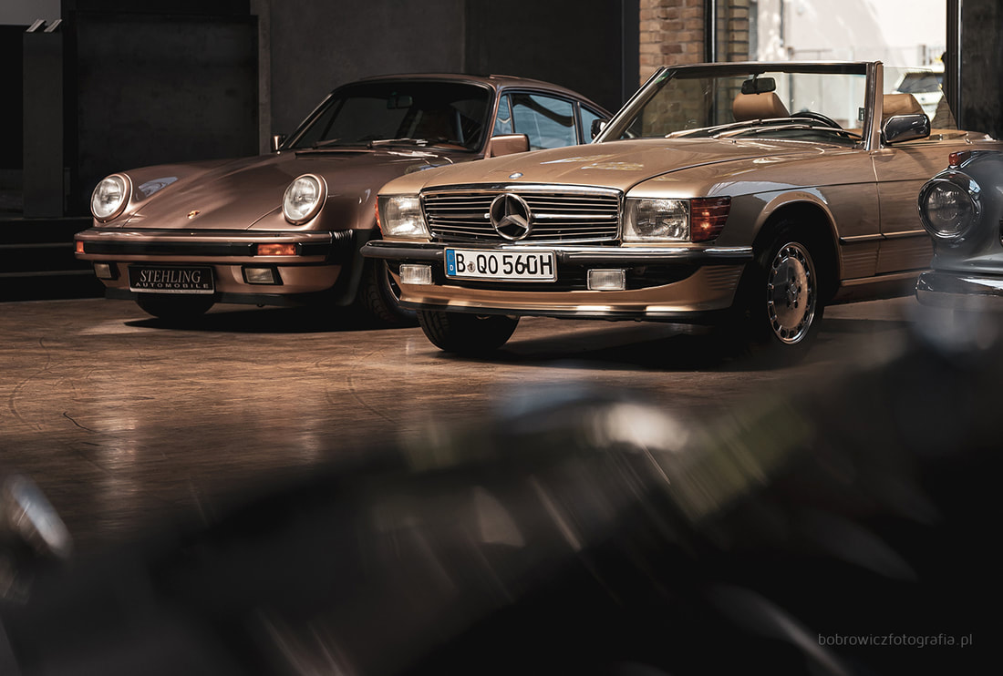 Classic Remise, Berlin - Porsche 930 Turbo, Mercedes-Benz 300 SL R107, Borgward Isabella Coupé